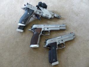Sig Sauer P226 X-Five Open X-Five Allround X-Six hs